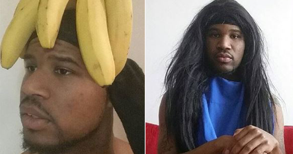 This man is recreating celebrity looks with household items